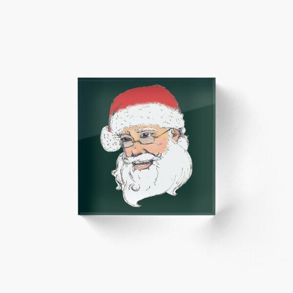 Santa Claus Acrylic Block