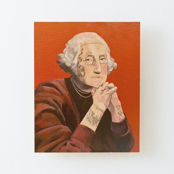 George Washington 2020 Wood Mounted Print