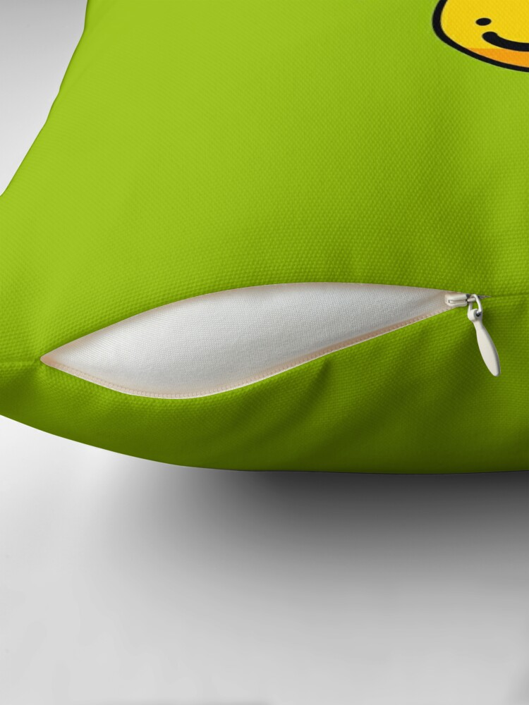Alternate view of Cheerful Bees Throw Pillow