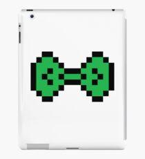 Green Pixel Bow iPad Case/Skin