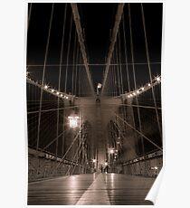 Brooklyn Bridge IV Poster