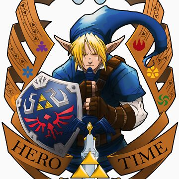 Hero of Time (Blue) by FuranSan