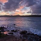 Sunset on the Rocks by Adam Northam