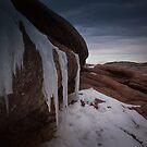 Red Rocks Frozen by Adam Northam