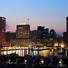 Baltimore Skyline by Robin Black