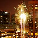 Baltimore Fireworks by Robin Black