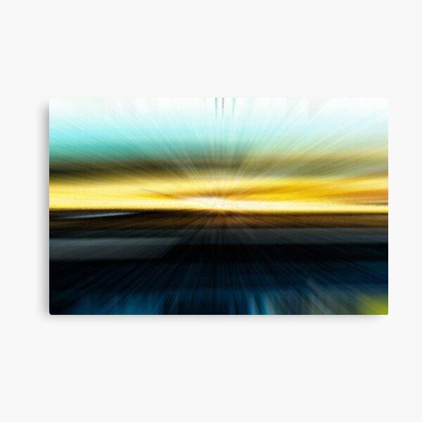 The Beach Abstract - 2  Canvas Print
