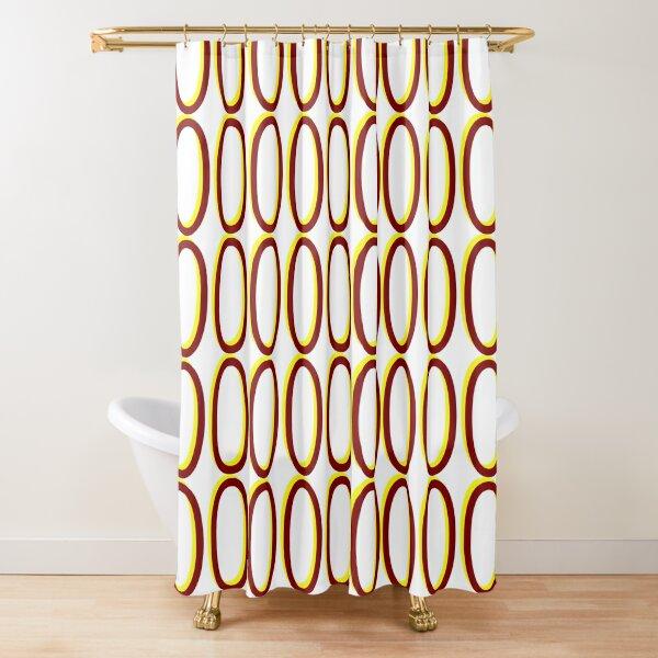 Zeros #04 Shower Curtain