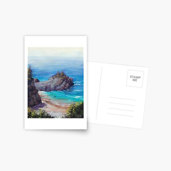 Big Sur Coastline Postcard