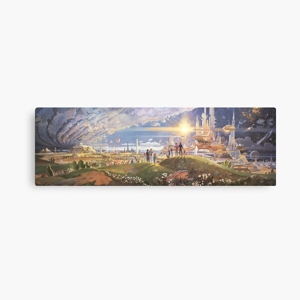 Prologue and the Promise Canvas Print