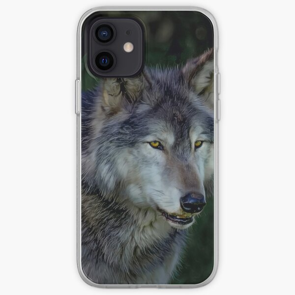 The Night of The Wolf iPhone Soft Case