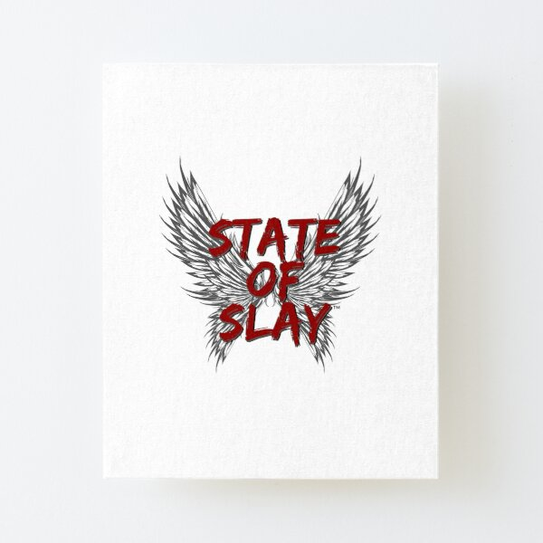 State Of Slay™ Logo Canvas Mounted Print