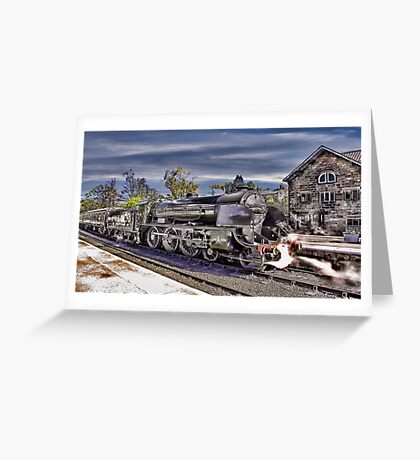 Grosmont Station Greeting Card