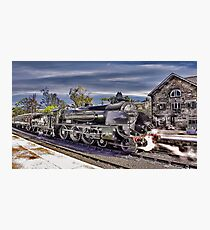 Grosmont Station Photographic Print