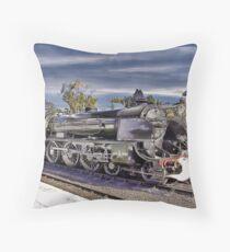 Grosmont Station Throw Pillow