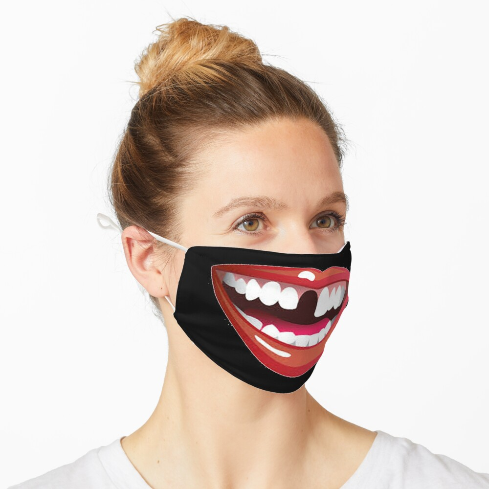 mouth 1 design Mask