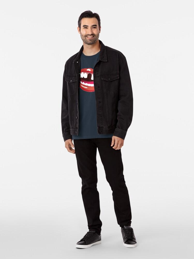Alternate view of mouth 1 design Premium T-Shirt