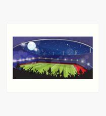 Soccer Stadium Art Print