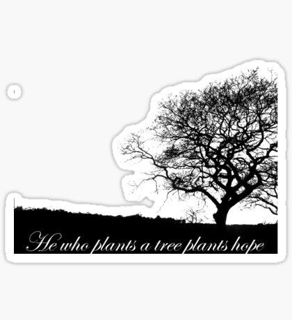 Tree T-shirt Sticker