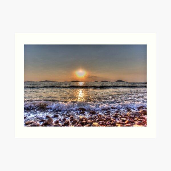 Turkey Beach Sunset Art Print