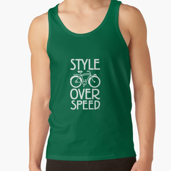 Antique Bike - Style Over Speed Tank Top