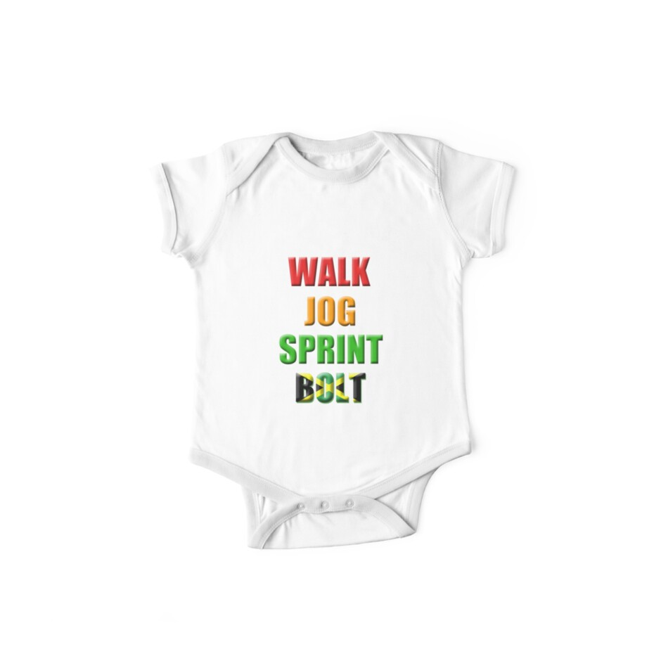 Walk, Jog, Sprint, BOLT!! by tappers24