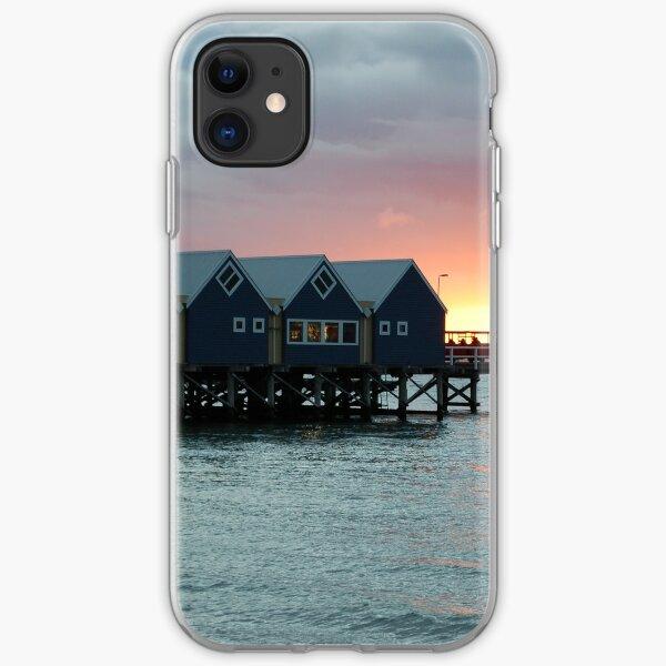 Sunset on Busselton Jetty iPhone Soft Case