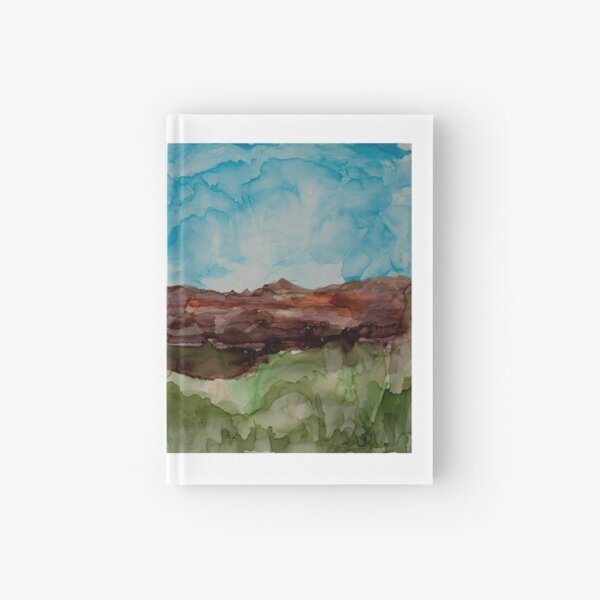 Desert Landscape Hardcover Journal