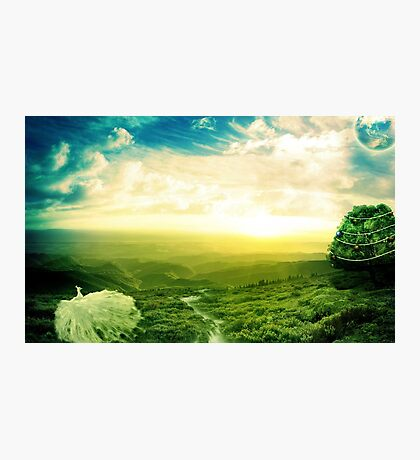 Beautiful fantasy scenery Photographic Print