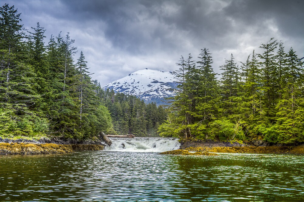 Sitka Falls by Randy Turnbow