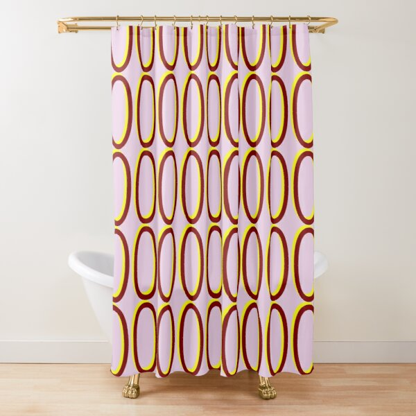 Zeros #04B Shower Curtain