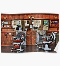 Ye Old Barber Shop Poster