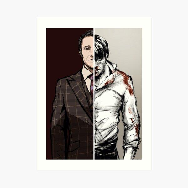 Las tablas están cambiando - Variante de Hannibal Lámina artística