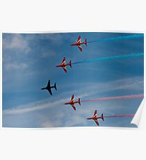 Red Arrows # 13 Poster