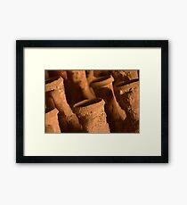 Ancient Roman Amphora Framed Print