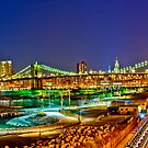 Happy Easter Night in NYC by sxhuang818