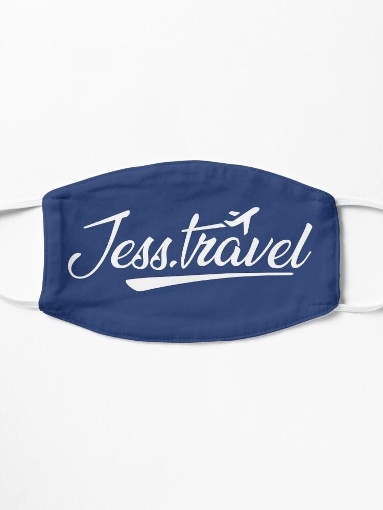 Alternate view of Jess.Travel White Logo Mask