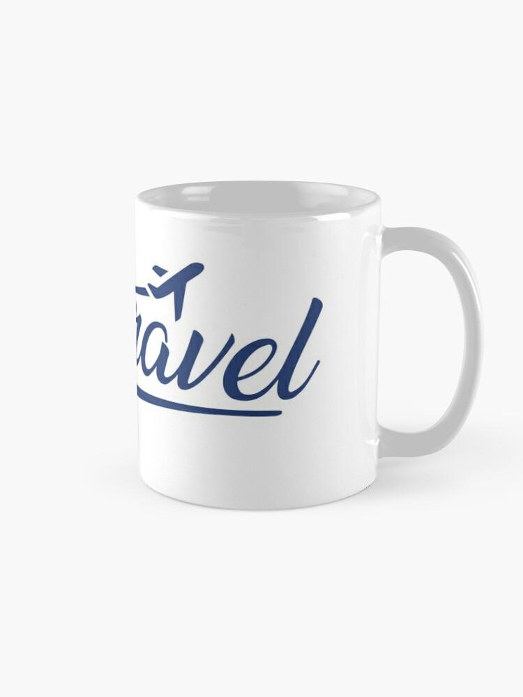 Alternate view of Jess.Travel White Logo Mug