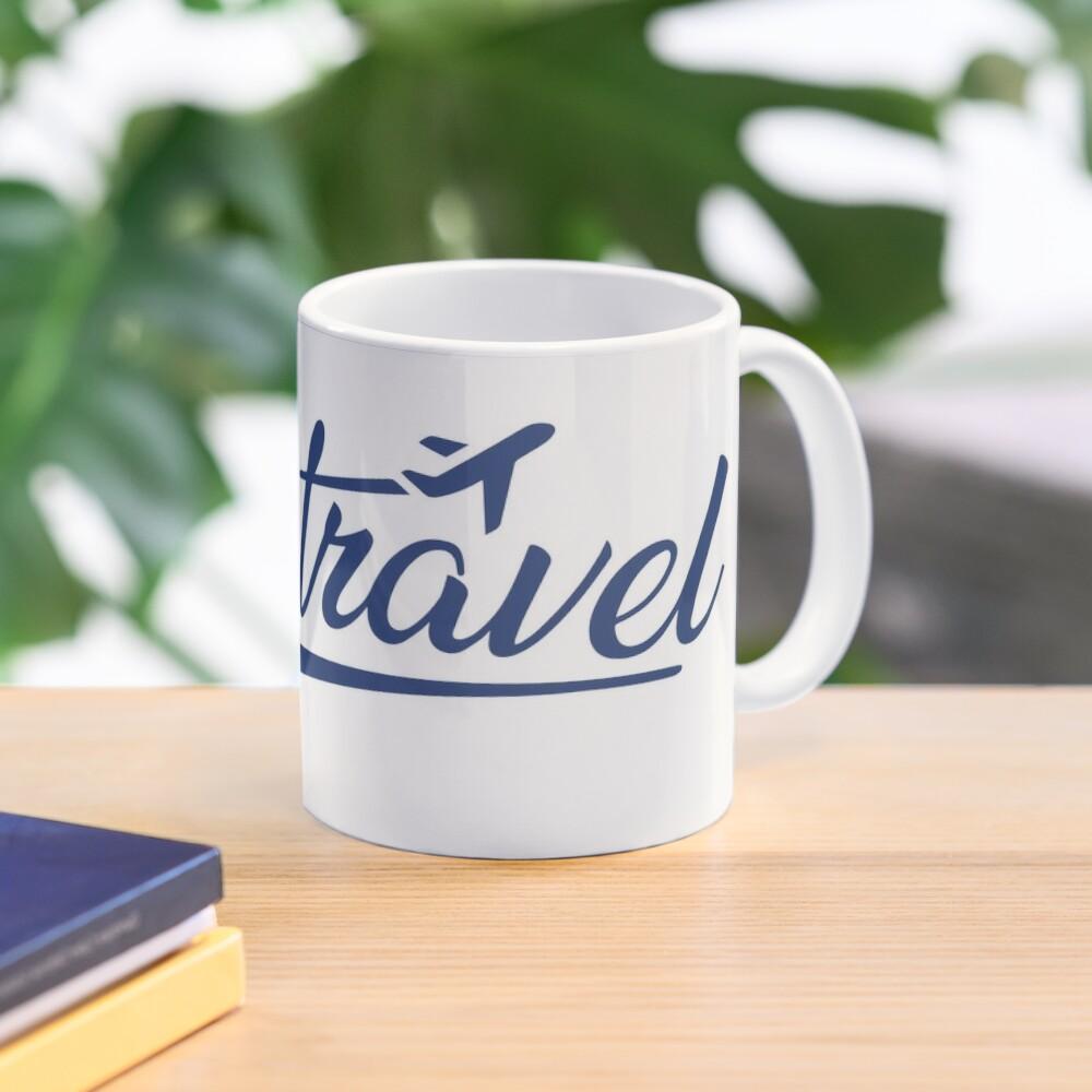 Jess.Travel White Logo Mug