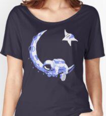 Moonstuck - Alternate Universe on Dark Blue Women's Relaxed Fit T-Shirt