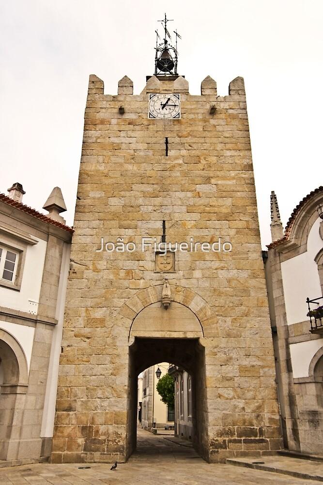 Caminha's clock tower by João Figueiredo