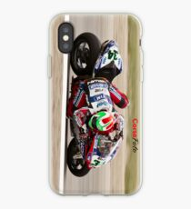 Davide Giugliano at Miller Motorsports park 2012 iPhone Case