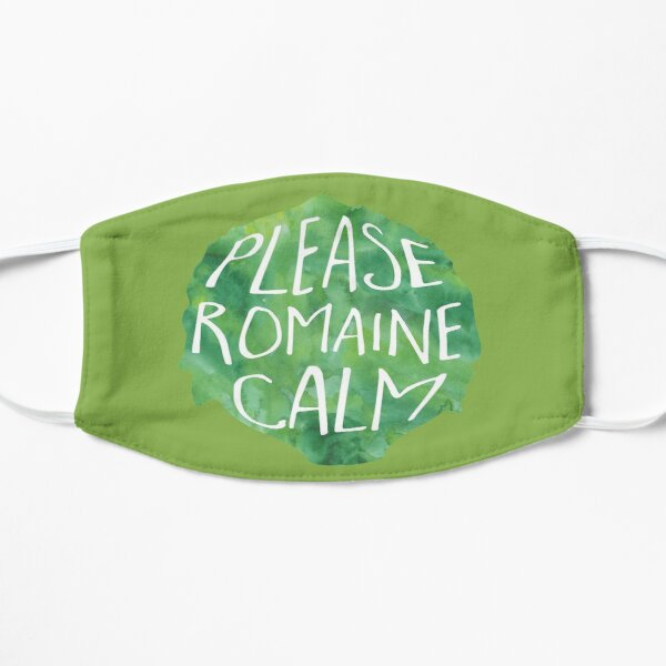 Please ROMAINE calm - Pun Mask