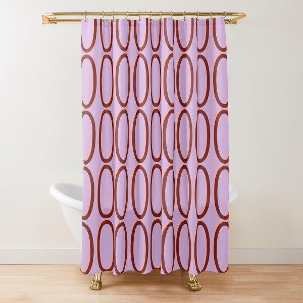 Zeros #05B Shower Curtain