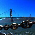 The Golden Gate Bridge by NuclearJawa