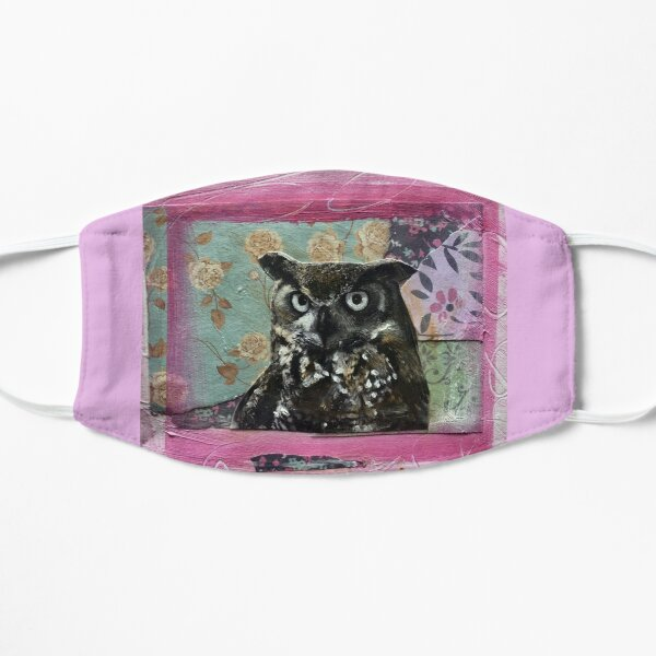 In the Pink Owl  Mask