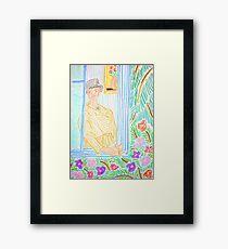 Hot and Rainy Framed Print