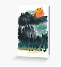 Wilderness Greeting Card