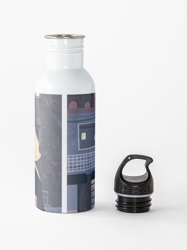 Alternate view of Rear Window - Pencil illustration Hitchcock fan art Water Bottle