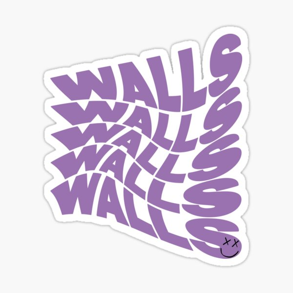 Purple Walls  Sticker